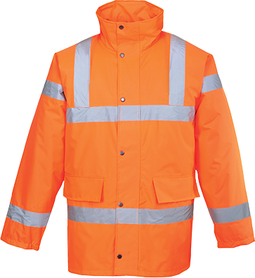 RT30 - Hi-Vis Traffic Jacket Orange