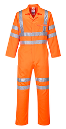 RT42 - Hi-Vis Poly-cotton Coverall RIS Orange