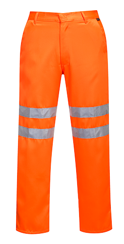 Portwest RT45 Hi-Vis Poly-cotton Trousers GO/RT