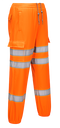 RT48 - Hi-Vis Jogging Bottoms Orange
