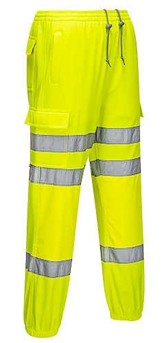 RT48 - Hi-Vis Jogging Bottoms Yellow