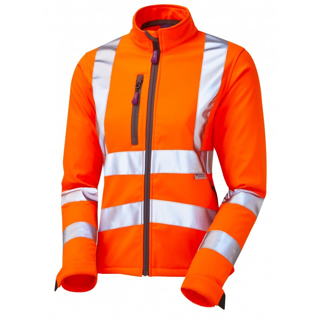 HONEYWELL ISO 20471 Cl 2 Ladies Softshell Jacket