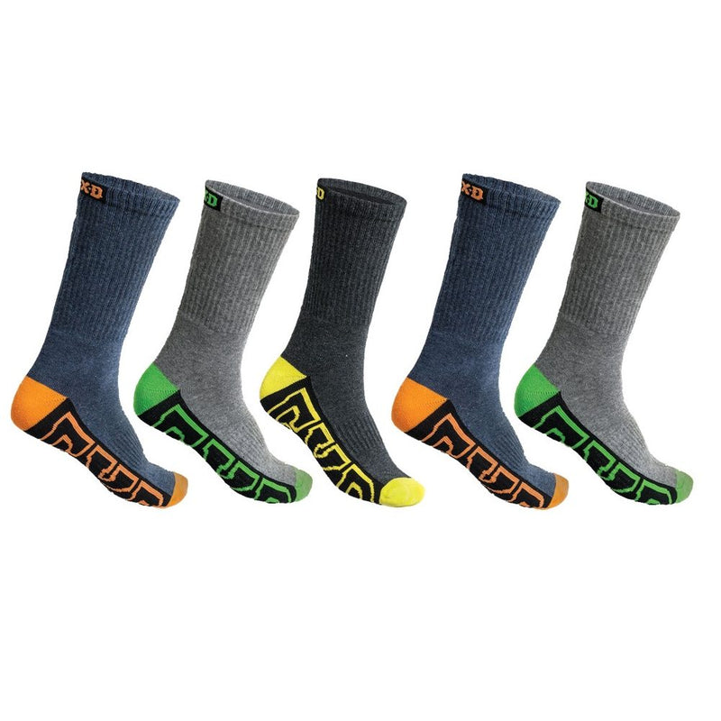 FXD SK-1 Crew Sock Pack of 5
