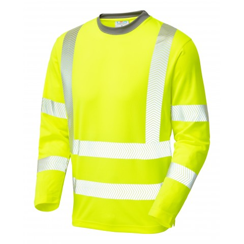 CAPSTONE ISO 20471 Cl 3 Coolviz Plus Sleeved T-Shirt