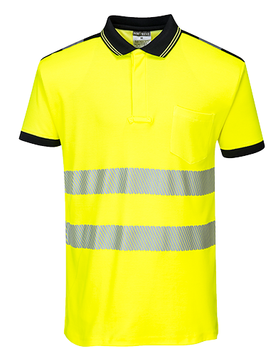 T180 - PW3 Hi-Vis Polo Shirt S/S