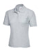 UC106 Ladies Poloshirt Heather Grey