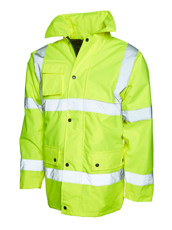 UC803 Road Safety Jacket Yellow