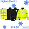 Hi Viz Workwear Bundle 1 - Includes a free logo