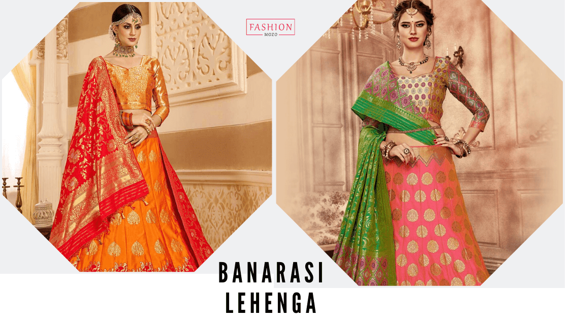 Wedding Special: Enjoy Best Banarasi Lehenga Online Shopping With Fashionmozo