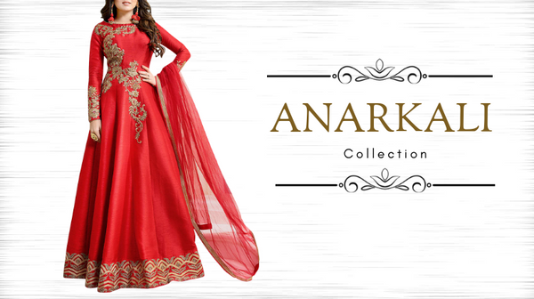 Shop Voguish Anarkali Suits This Eid From Fashionmozo At Highly Discounted-Prices!