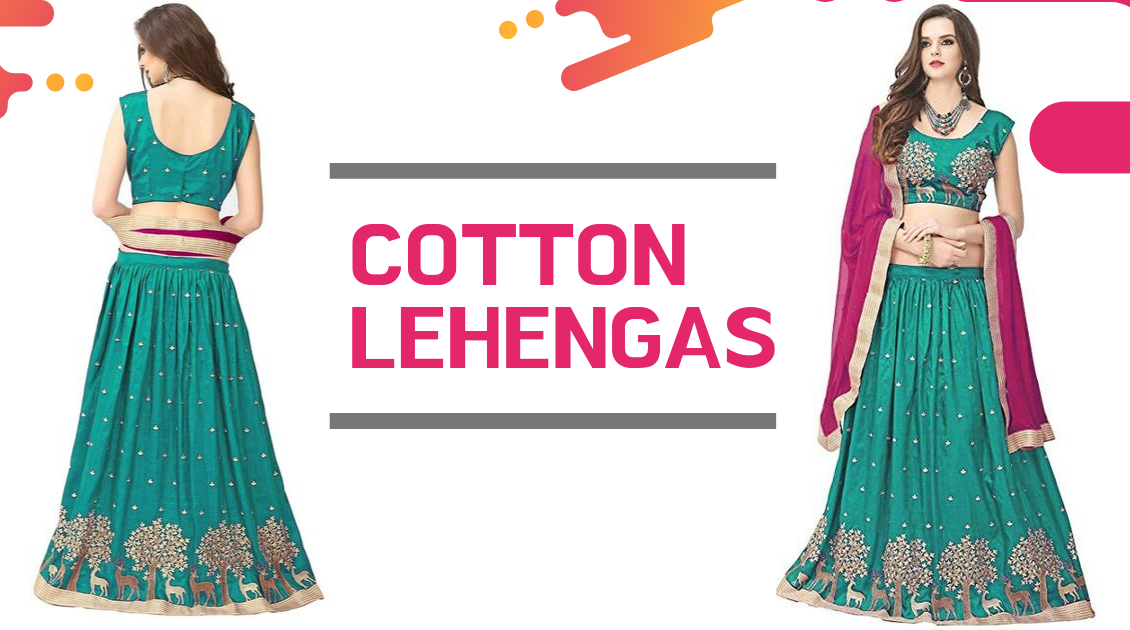 Explore the Enchanting Cotton Lehengas that are going to rule in 2019!