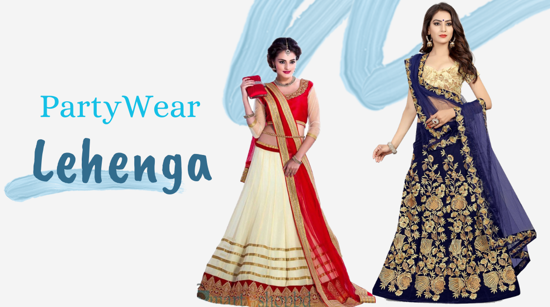 Buy Exclusive Party Wear Lehenga for Women & look Vivacious
