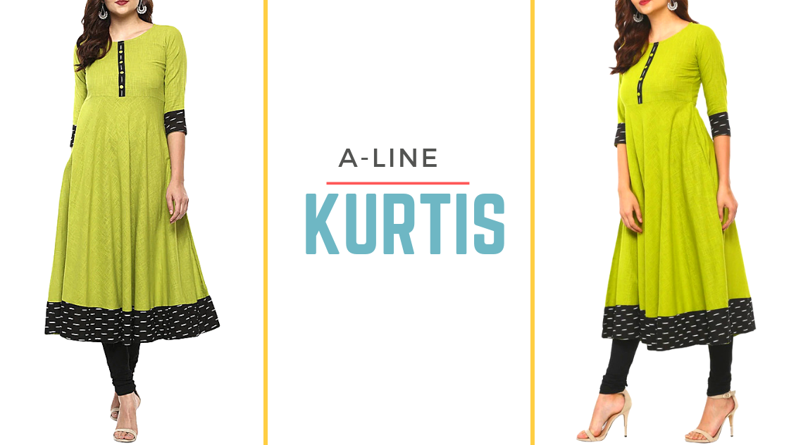 Be Style Ready for Every Occasion with Stylish A-Line Kurtis