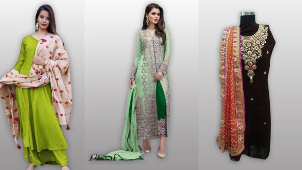 Where to buy the best dress material of Salwar suits?