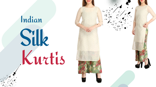 Complete your Look with Elegant Indian Silk Kurtis Designs!