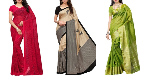 Printed saree online shopping