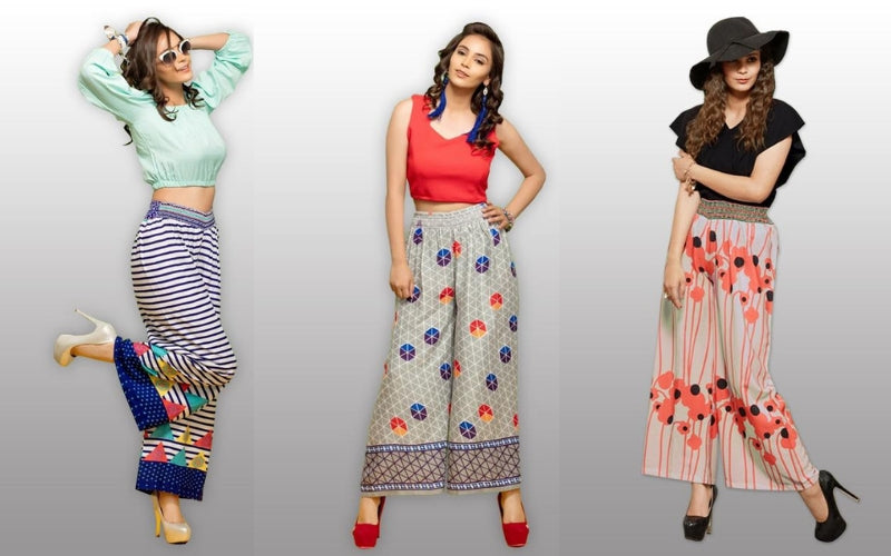 Perk up your Style with Palazzo Pants for Women