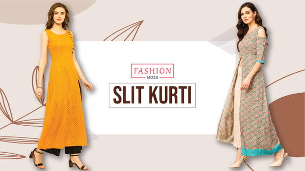 Slit Kurti: Traditional yet extremely fashionable attire for women