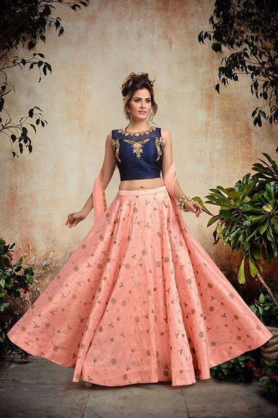 Bridal Crop Top Lehenga