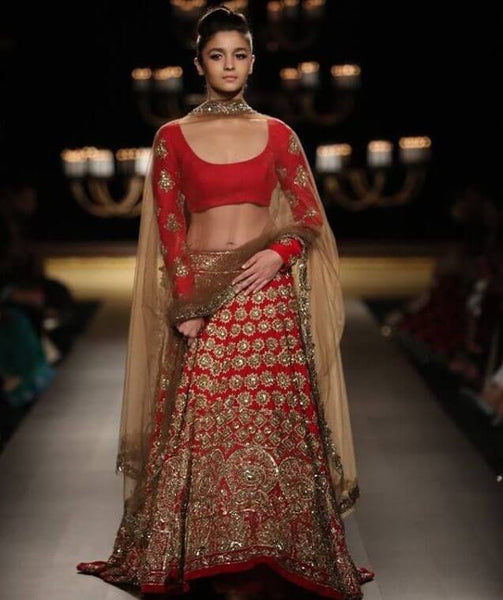 Celebrity Bridal Lehenga