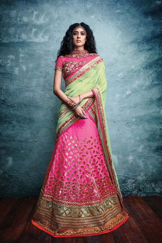Cotton Bridal Lehenga