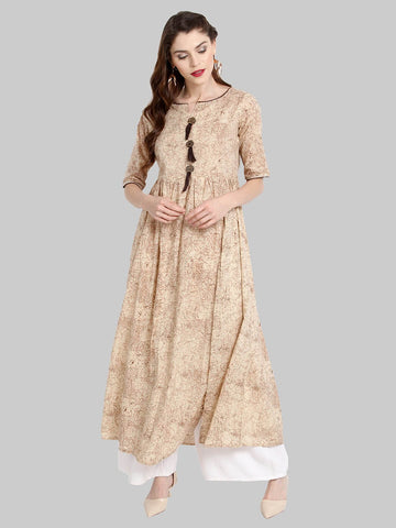 Cotton Flared Kurti