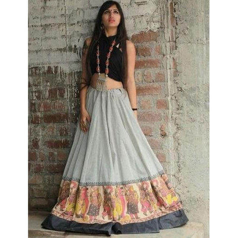Cotton Printed Lehenga