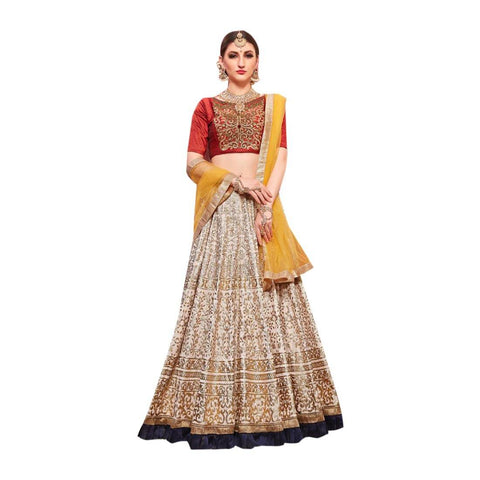 Cotton Saree Lehenga