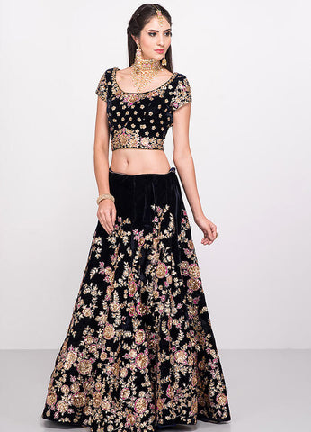 Embroidered Lehenga Skirt
