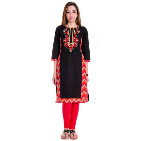 Embroidery Work Kurti Online
