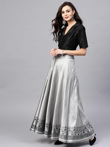 Flared Lehenga Skirt