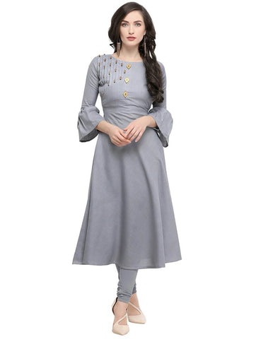 Flared sleeves Kurti