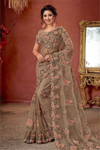 Impeccable Embroidery for Glam Look