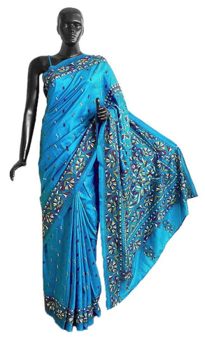 Kantha Embroidery Sarees