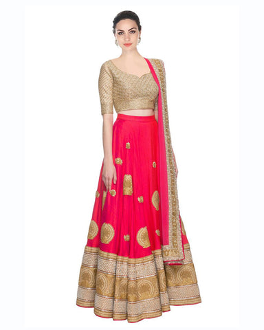 Light Party Wear Lehenga