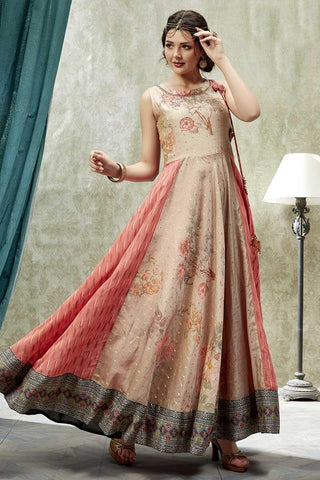 Long flared Kurtis