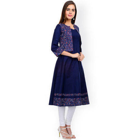 Long Kurti With Koti