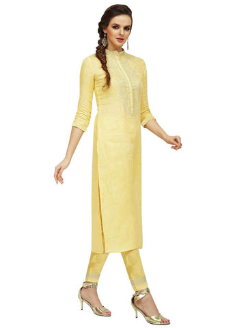 Long Straight Kurti With Pants