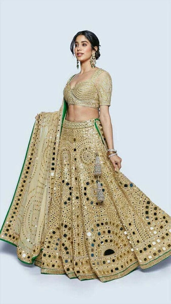 Mirror Work Bridal Lehenga
