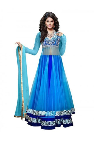 Net Party Wear Lehenga