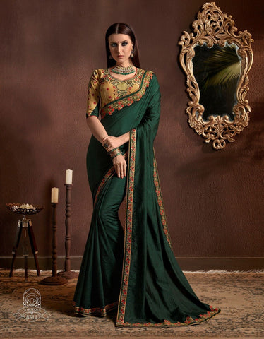 Georgette Party wears Sarees