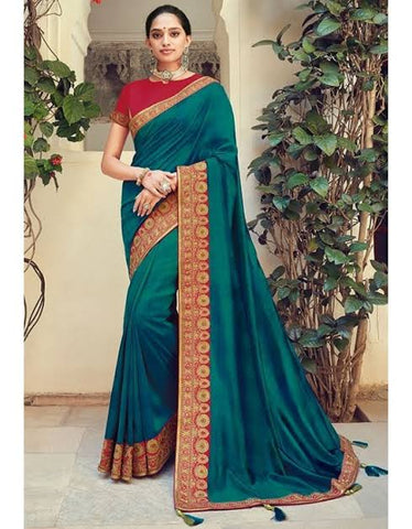 Peacock Pattu Saree