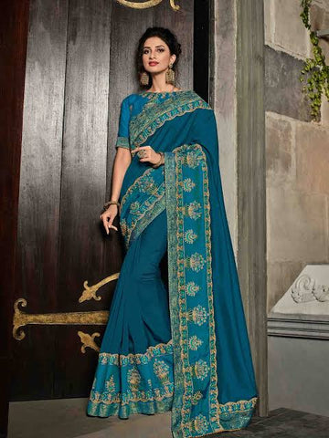 Peacock Wedding Saree
