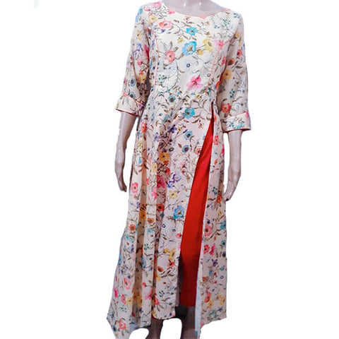 Side Long Cut Kurti