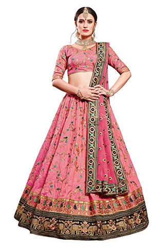 Silk Party Wear Lehenga