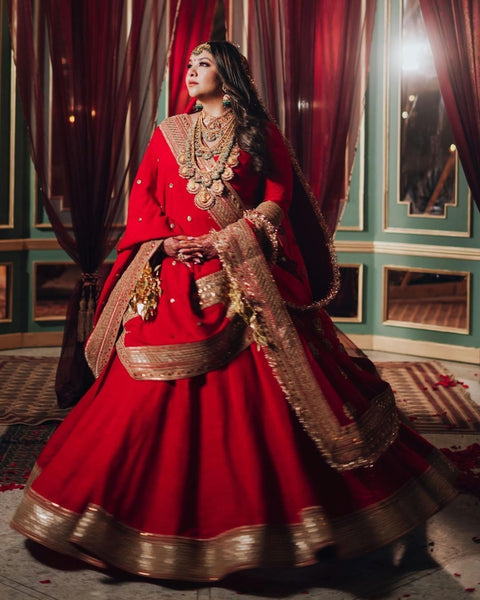 Simple Bridal Lehenga