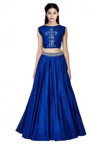 Simple Party Wear Lehenga