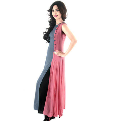 Sleeveless Long Kurti