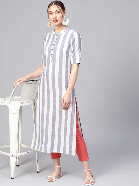 Straight Fit Long Kurtis