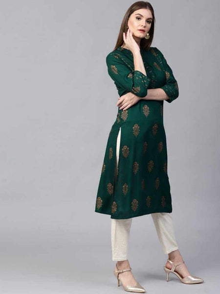 Stylish Straight Kurti